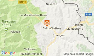 Kaart Serre Chevalier Chalet 114319