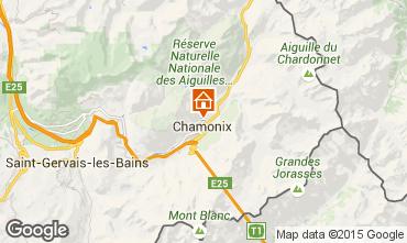 Kaart Chamonix Mont-Blanc Appartement 28457