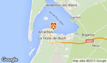 Kaart Arcachon Appartement 6626