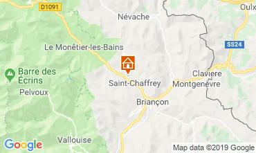 Kaart Serre Chevalier Chalet 118830