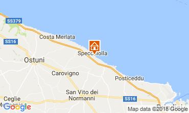 Kaart Ostuni Villa 87439
