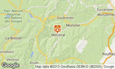 Kaart Munster Vakantiehuis 65244