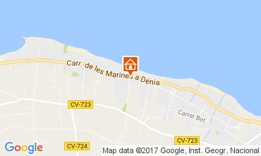 Kaart Dénia Bungalow 108044