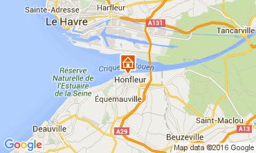 Kaart Honfleur Appartement 103646