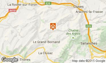 Kaart Le Grand Bornand Chalet 1390