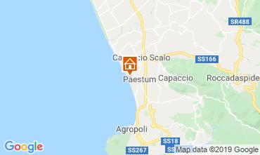 Kaart Paestum Appartement 41642