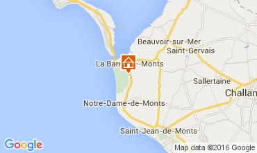 Kaart La Barre de Monts Villa 95533