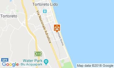 Kaart Tortoreto Appartement 94099
