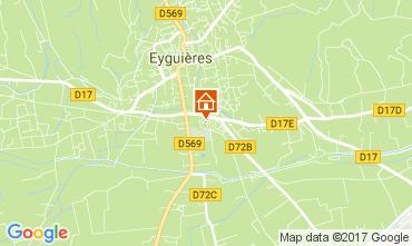 Kaart Eyguières Huis 112210