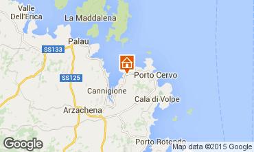 Kaart Porto Cervo Appartement 29162
