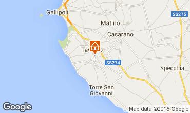Kaart Gallipoli Appartement 77656