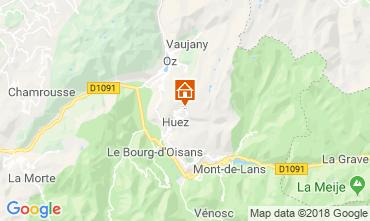 Kaart Alpe d'Huez Studio 116847