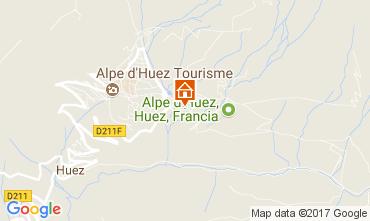 Kaart Alpe d'Huez Appartement 111769