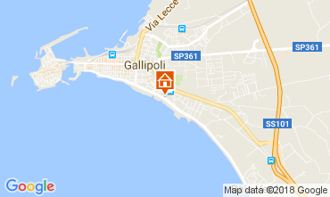 Kaart Gallipoli Appartement 113109