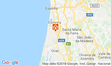 Kaart Porto Appartement 29893