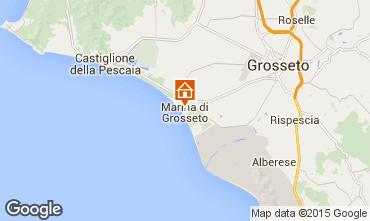 Kaart Marina di Grosseto Appartement 91947