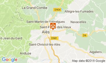 Kaart Alès Villa 113334