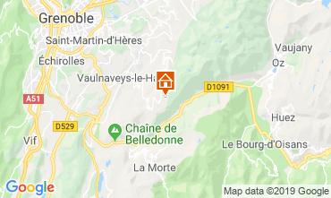 Kaart Chamrousse Appartement 28273