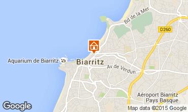 Kaart Biarritz Studio 93702