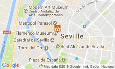 Kaart Sevilla Appartement 106199