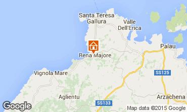 Kaart Santa Teresa di Gallura Villa 99078