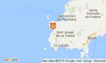 Kaart Cala Vadella Villa 112785