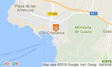 Kaart Los Cristianos Appartement 115856