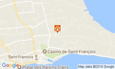 Kaart Saint Francois Vakantiehuis 16331