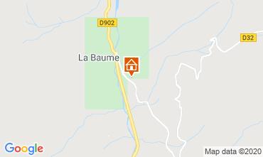 Kaart Saint Jean d'Aulps- La Grande Terche Chalet 517