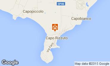Kaart Isola di Capo Rizzuto Appartement 86613