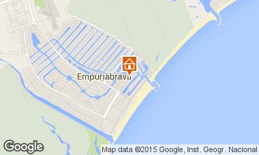 Kaart Empuriabrava Appartement 41310