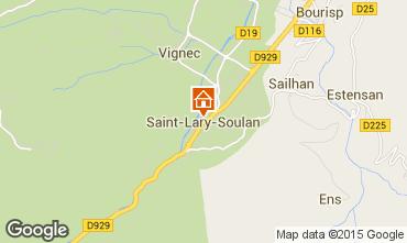 Kaart Saint Lary Soulan Studio 65664