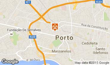 Kaart Porto Appartement 82772