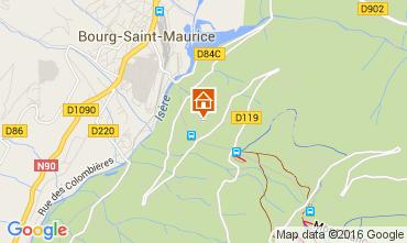 Kaart Les Arcs Appartement 270