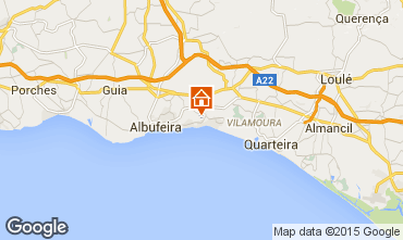 Kaart Albufeira Villa 57069
