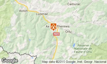 Kaart Ax Les Thermes Chalet 3915