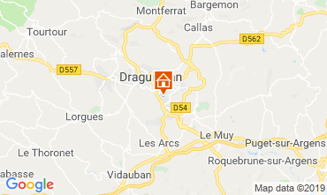 Kaart Trans-en-Provence Vakantiehuis 99659