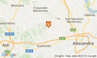 Kaart Alessandria Appartement 115176
