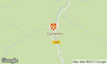 Kaart Cauterets Appartement 4095