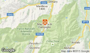 Kaart Madonna di Campiglio Studio 92365