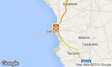Kaart Gallipoli Appartement 97119