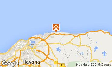 Kaart La Havana Villa 88660