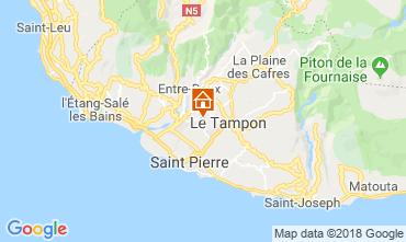 Kaart Saint Pierre (Réunion) Villa 117301
