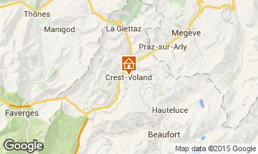 Kaart Crest Voland Cohennoz Appartement 61393