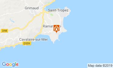 Kaart Saint Tropez Huis 119986