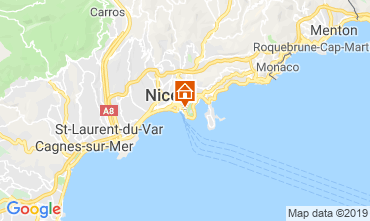 Kaart Nice Appartement 32914