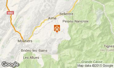 Kaart La Plagne Appartement 34893