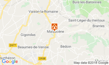 Kaart Malaucène Huis 116203