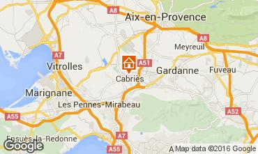 Kaart Aix en Provence Appartement 85504
