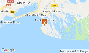 Kaart Port Camargue Appartement 119753